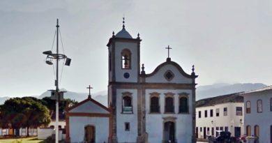 igreja de santa rita em paraty