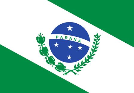 bandeira do estado do Paraná