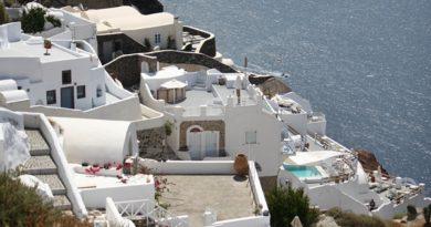 Hotéis em Santorini na Grécia