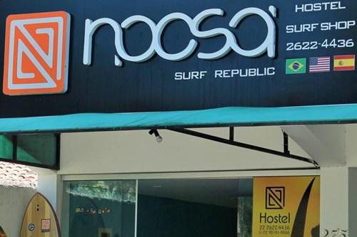 Hostel em Arraial da Ajuda - Noosa Brasil Surf Republic