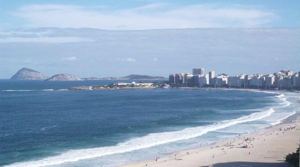 Hotéis em Copacabana, praia do Rio de Janeiro